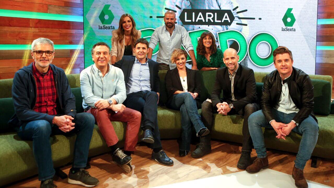 'Liarla Pardo' llega a los domingos de La Sexta con Cristina Pardo y ficha a Roberto Brasero