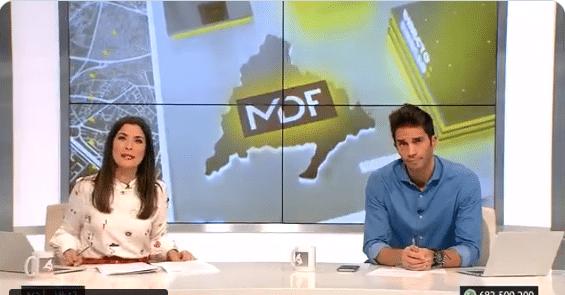 'Madrid Directo' se convierte en el programa más visto de Telemadrid